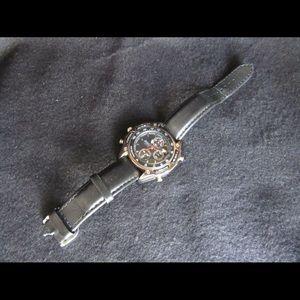 Seiko Sports 50 Chronograph 7T32-6H99 Leather Band
